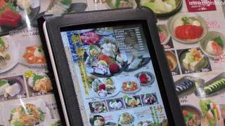 Diginfo - http://www.diginfo.tv 19/8/2010 sharp system products restaurant self-ordering using ipad