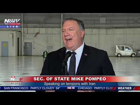 IRAN TENSIONS: Mike Pompeo Updates On U.S. Response