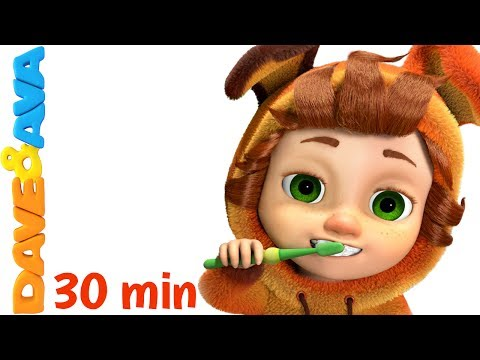 Thumbnail: 👍 Nursery Rhymes Collection: Brush Your Teeth | Healthy Habits Songs | Kids Songs from Dave and Ava👍
