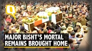 Family Preparing For Army Major's Wedding Grieves by His Coffin | The Quint