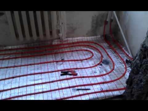 0 - Тепла підлога від центрального опалення в квартирі