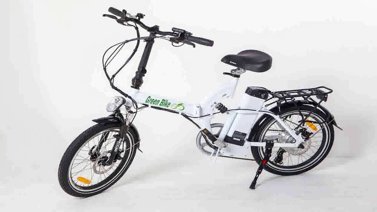 Greenbike Usa Electric Motor Power Bicycle Lithium Battery