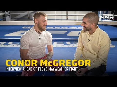 Thumbnail: Conor McGregor Discusses Mayweather, Racism Accusations, Malignaggi, $100M payday - MMA Fighting
