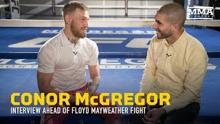 Conor McGregor Discusses Mayweather, Racism Accusations, Malignaggi, $100M payday - MMA Fighting