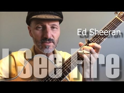 I See Fire Chords Ed Sheeran Lesson Part 13 Youtube