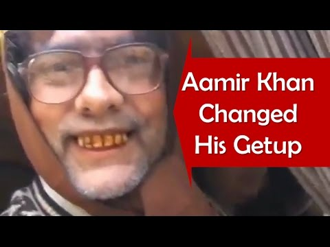 Aamir Khan In Public (But No One Recognized) Varanasi