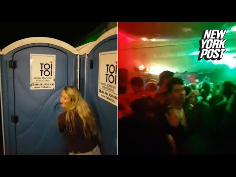 The only way into this secret rave was through a porta-potty | New York Post