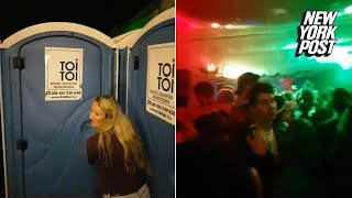 Festival's Secret Rave Entrance Is Hidden Inside Porta-Potty | New York Post