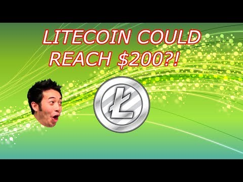 Litecoin NEWS : LTC Could Reach $200+! Here's Why. Crypto Technical Analysis