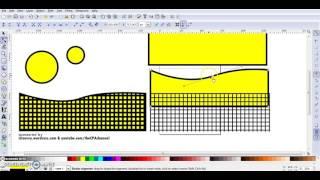 Inkscape Expert Tutorials - Creating Grids - Tennis Net