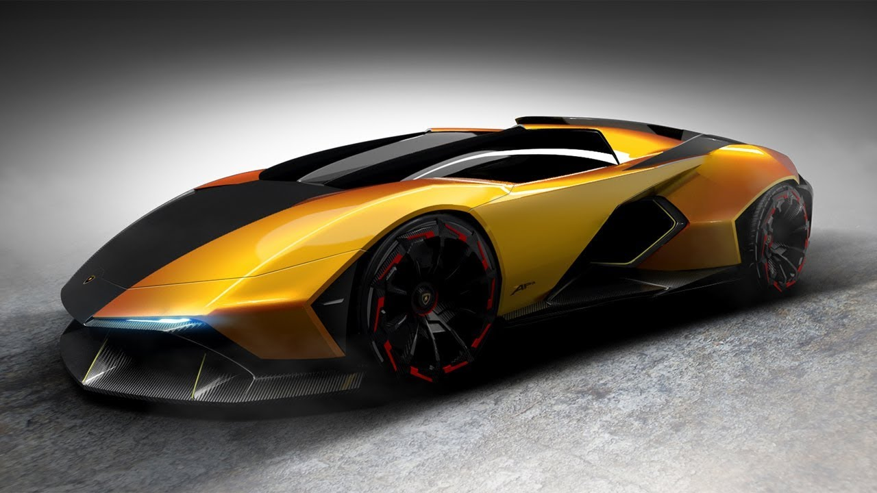 Lamborghini Vision Hypercar Concept For The Year Of 5