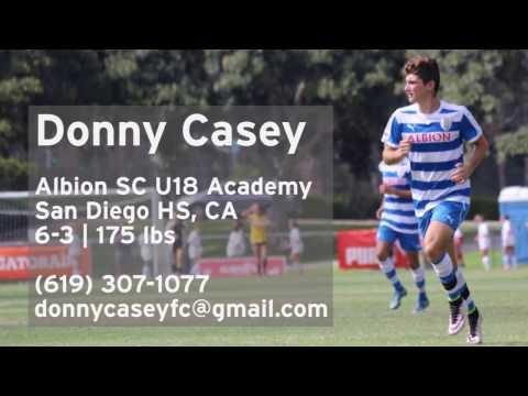 Donny Casey | San Diego High School Soccer 2018 | Albion U18 | Forward