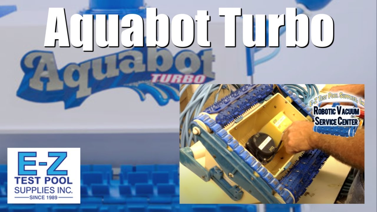 How To Disassemble Aquabot Turbo Taking A Pool Cleaner
