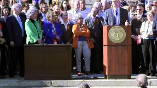 Governor Dayton Signs Minnesota Marriage Equality Bill - Full Ceremony