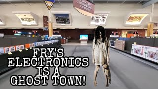 The end of fry's electronics?