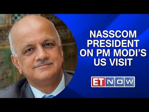 Nasscom President R Chandrasekhar On PM Modi's US Visit, Digital India & More