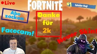 🔴Raben Skin vient MORGEN?! Fortnite Live Stream Anglais ABO ZOCKEN PC/PS4/XBOX