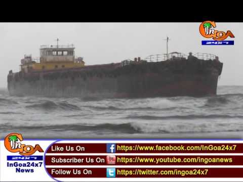 [WATCH]BARGE STUCK IN MIRAMAR