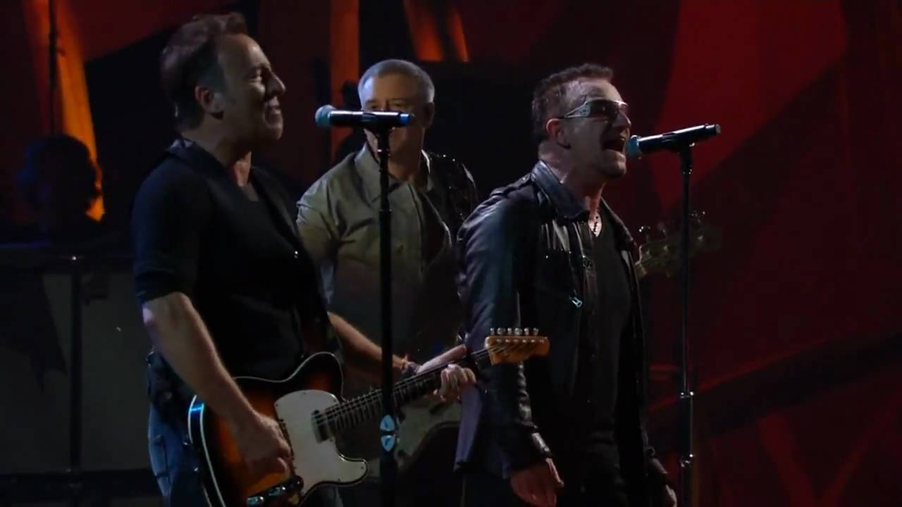 U2 and bruce springsteen i still haven t found