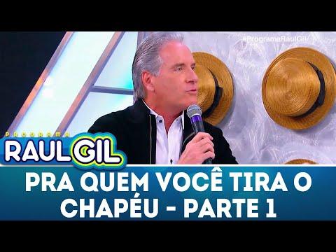 Para Quem Você Tira O Chapéu - Parte 1 - Roberto Justus | Programa Raul Gil (02/06/18)