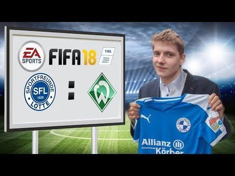 SF Lotte - Werder Bremen II - Fifa 18 Karriere #32
