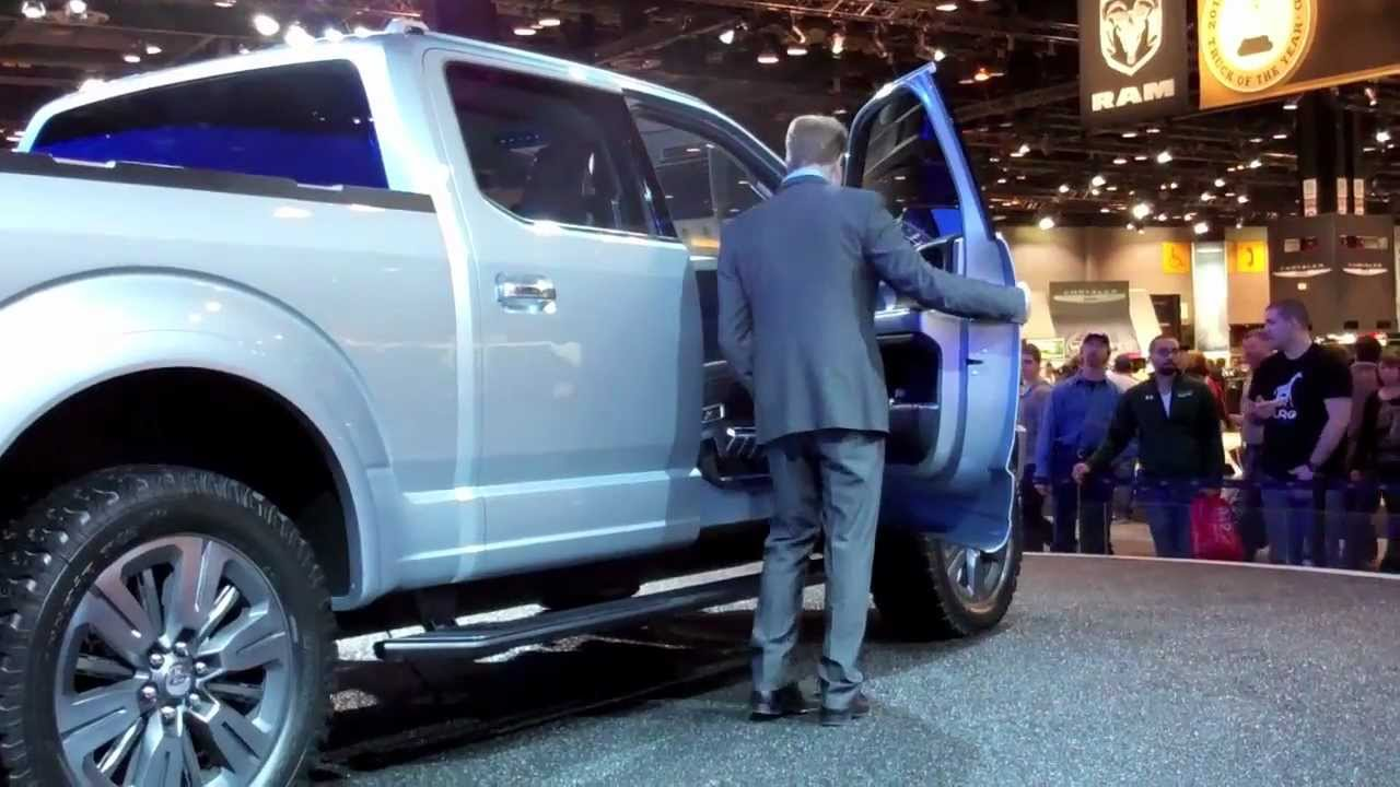 2015 Ford Atlas F 150 Truck Concept Youtube