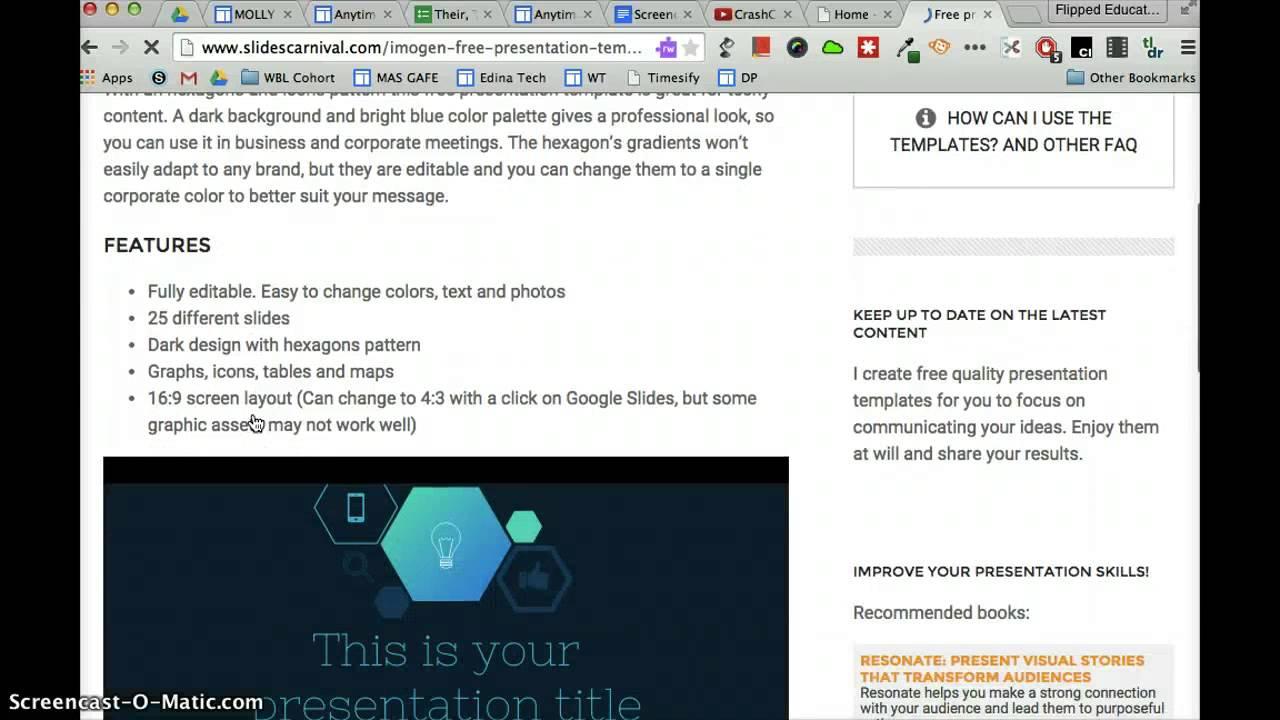 slides carnival - youtube, Presentation templates