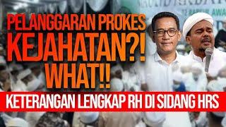 JAKSA BERTANYA, REFLY HARUN MENJAWAB: ADILI SEMUA PELANGGAR PROKES KALAU MEMANG KEJAHATAN!!