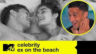 EP#1 FIRST LOOK: Lovebirds Lorena And Joey Get Grilled | Celeb Ex On The Beach