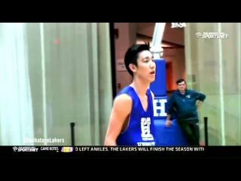 Jeremy Lin Talking about His Younger Bro Joseph Lin, Hamilton College Basketball PG