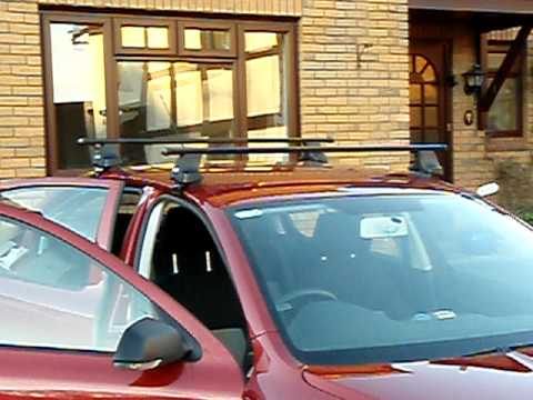 Removing Thule Quot Rapid System Quot Roof Bars Youtube