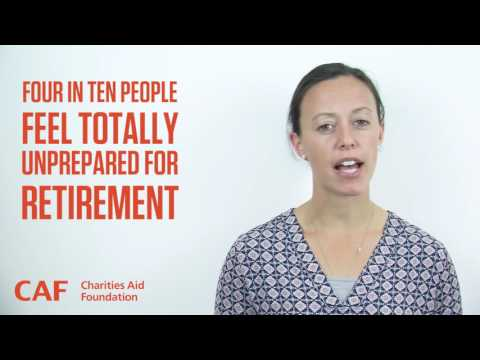 Post-Careers Advice Service | International Day of Older Persons | Charities Aid Foundation