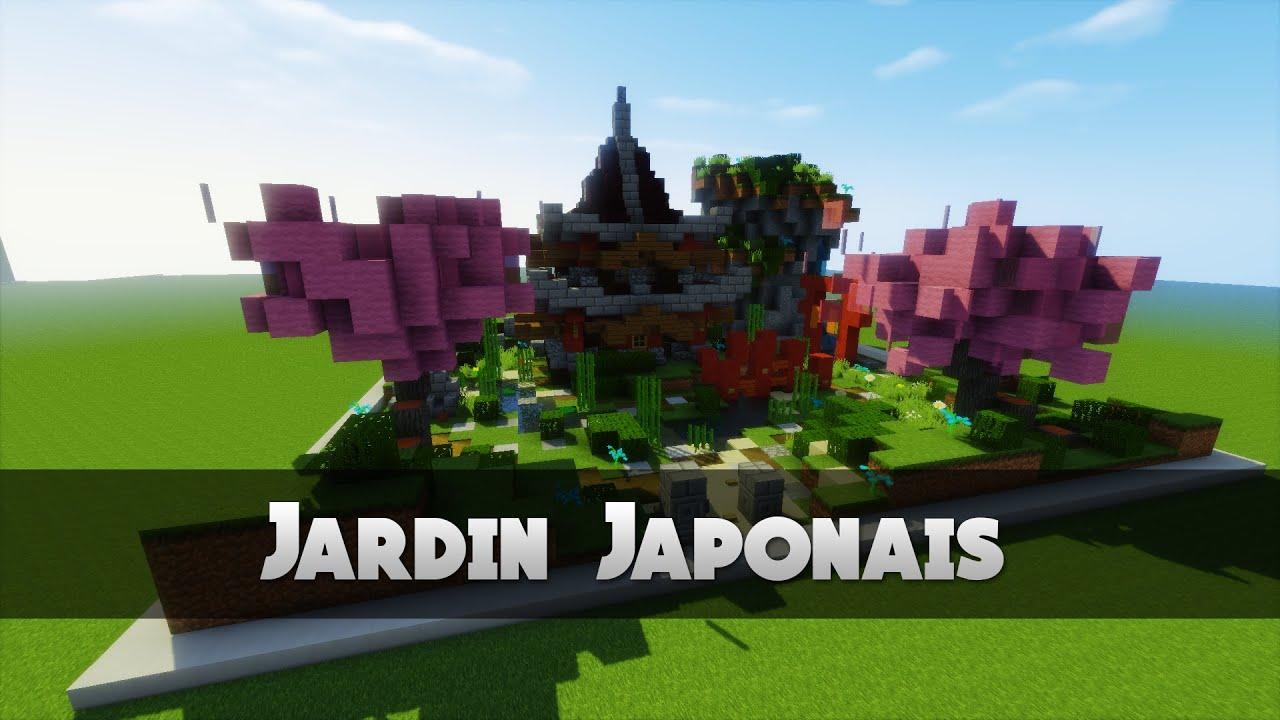 TUTO JARDIN JAPONAIS   Minecraft  YouTube
