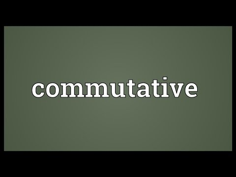 Commutative Meaning