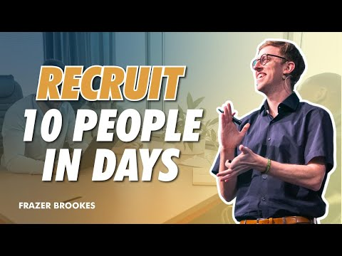 Network Marketing Recruiting – How To Recruit 10 People In 10 Days