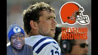 SHOULD COLTS TRADE ANDREW LUCK TO THE CLEVELAND BROWNS?