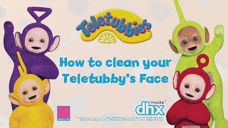 Teletubbies Toys: How to Clean Your Teletubbies Soft Toy | #Sponsored