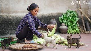 VietNamese Boiled Waxy Corn I Am Thuc Me Lam