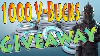1000 V-Bucks Give Away | 392 Fortnite Xbox Squad Wins Gameplay!
