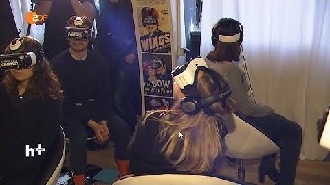 Deutschland erstes Virtual-Reality-Kino 360° - heuteplus | ZDF