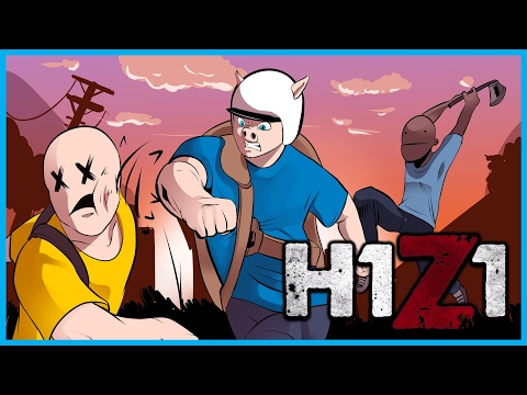 H1Z1 King of the Kill LIVE #3 w/ I AM WILDCAT & Friends - DESTROYING ENTIRE FAMILIES!