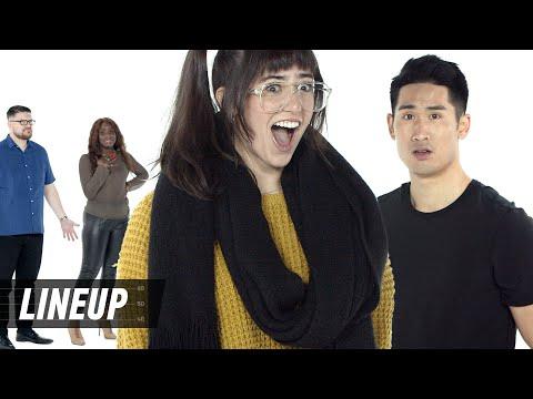 Rank Strangers Attractiveness | Lineup | Cut