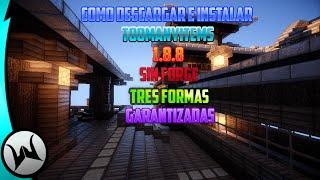 Como Descargar e Instalar TooManyItems   1.8.8   Sin Forge