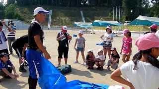 田布施町 麻郷小学校 おやじの会 キャンプ教室 2013