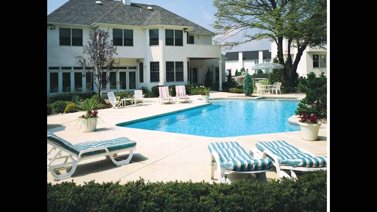 In-ground Geometric Swimming Pool Designs