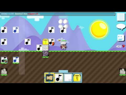 Growtopia: How to make whistle song (short)