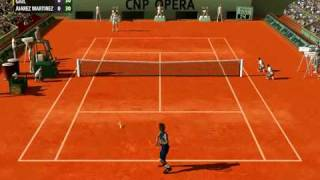 tennis simulator pc game video - Full Ace release -