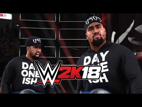 WWE 2K18: The Usos Updated Theme