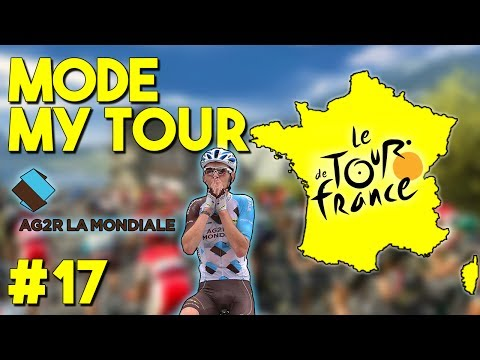 Tour de France 2017 | Mode My Tour #17 : CHUTE DE BARDET !!