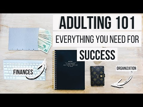 Adulting 101 For High School + College Students | Budgeting,